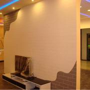 暖色调客厅液体壁纸图