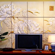 电视背景墙图案装修效果图