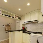 厨房石膏板吊顶灯光设计