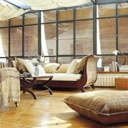 美式阳光房装修吊顶图