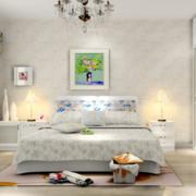 时尚卧室背景墙装修