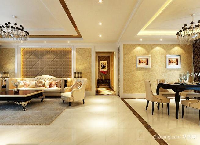 2015璀璨都市客厅走廊吊顶装修效果图