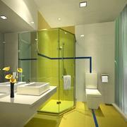 豪华卫生间设计图