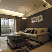客厅吊顶造型装修效果图
