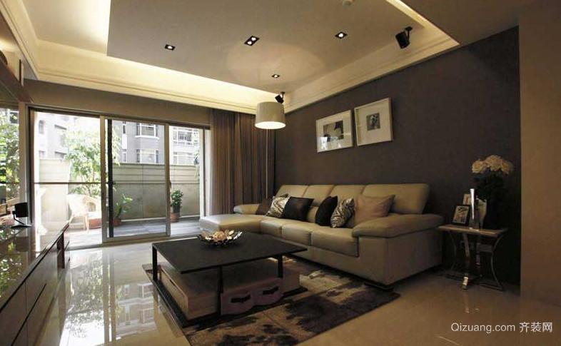 现代风格的客厅吊顶造型装修效果图大全