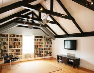 阁楼书房整体设计