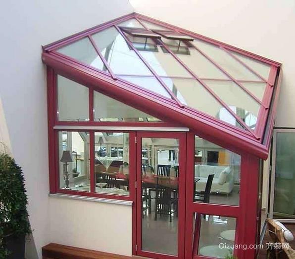 精美阳光房玻璃幕墙装修效果图
