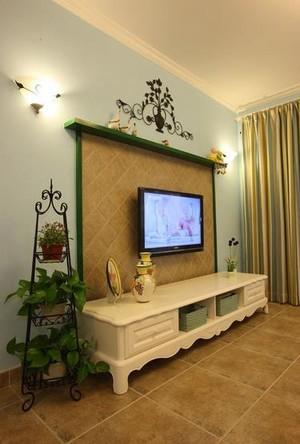 温馨三室一厅室内花架装修效果图大全