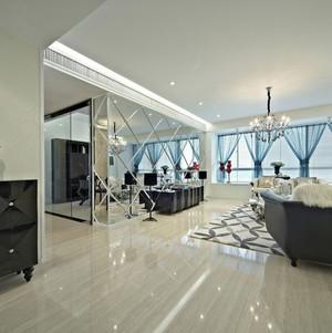 造型独特的客厅飘窗装修效果图