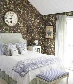 阁楼卧室壁纸装修效果图
