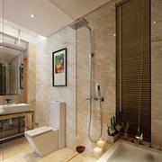 卫生间石膏板装修背景墙图