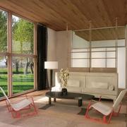 农村房屋别墅设计玻璃门