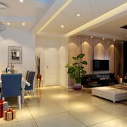 石膏线设计客厅装修