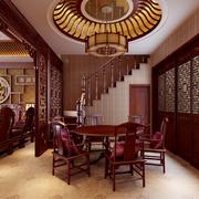 中式风格餐厅装修整体图