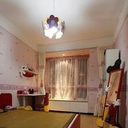 儿童房卧室壁纸装修吊顶图