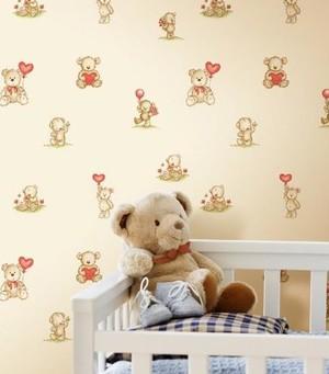 充满童趣的儿童房小卧室卡通壁纸装修效果图