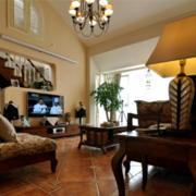 美式客厅吊灯设计效果图