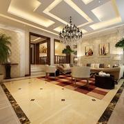 巴洛克风格客厅整体设计