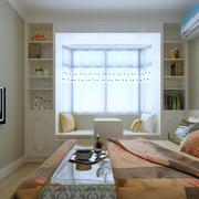 卧室榻榻米装修电视背景墙