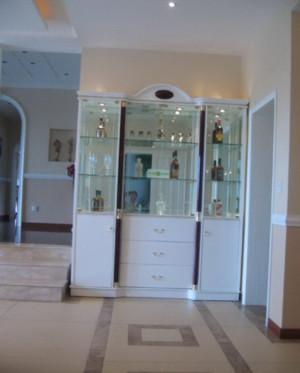 90平米客厅欧式玄关酒柜装修效果图