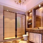 卫生间装修玻璃门