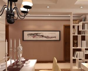 小别墅欧式客厅隔断装修效果图