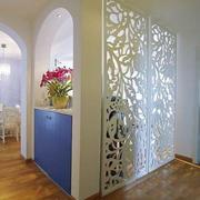 客厅玄关隔断灯光设计
