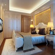 暖色卧室装修效果图