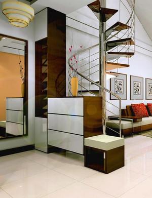 别墅型豪华楼梯装修效果图