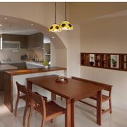 日式风格厨房装修吊灯图