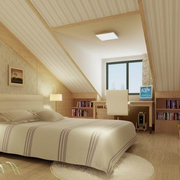 阁楼装修卧室设计图