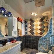 卫生间装修图案设计