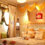 精致的卧室背景墙