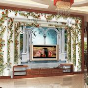 欧式罗马柱室内设计