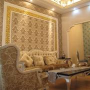 精美沙发背景墙装修效果图