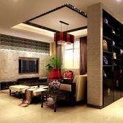 风格独特的中式客厅装修