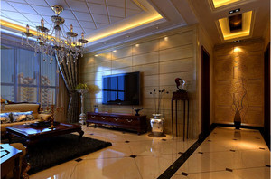 自由洒脱的美式客厅装修效果图
