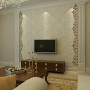 精巧的瓷砖背景墙设计