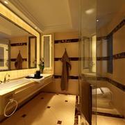 卫生间石膏板装修吊灯图