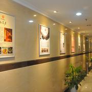 企业文化墙内部灯光设计