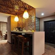 客厅吧台装修设计模板