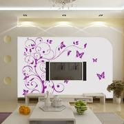 客厅液体壁纸背景墙图