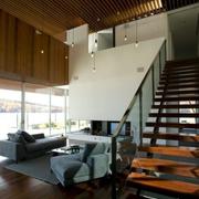 都市家庭楼梯装修效果图
