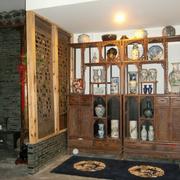 中式博古架设计吊顶图