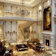 室内楼梯设计客厅图
