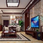 中式客厅整体设计图