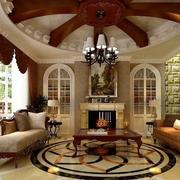 乡村风格客厅设计