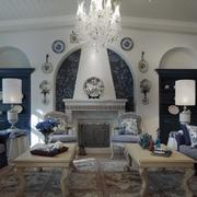 地中海风格客厅吊灯图