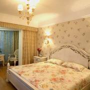 卧室壁纸装修灯光设计