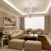 装饰华丽的客厅装修